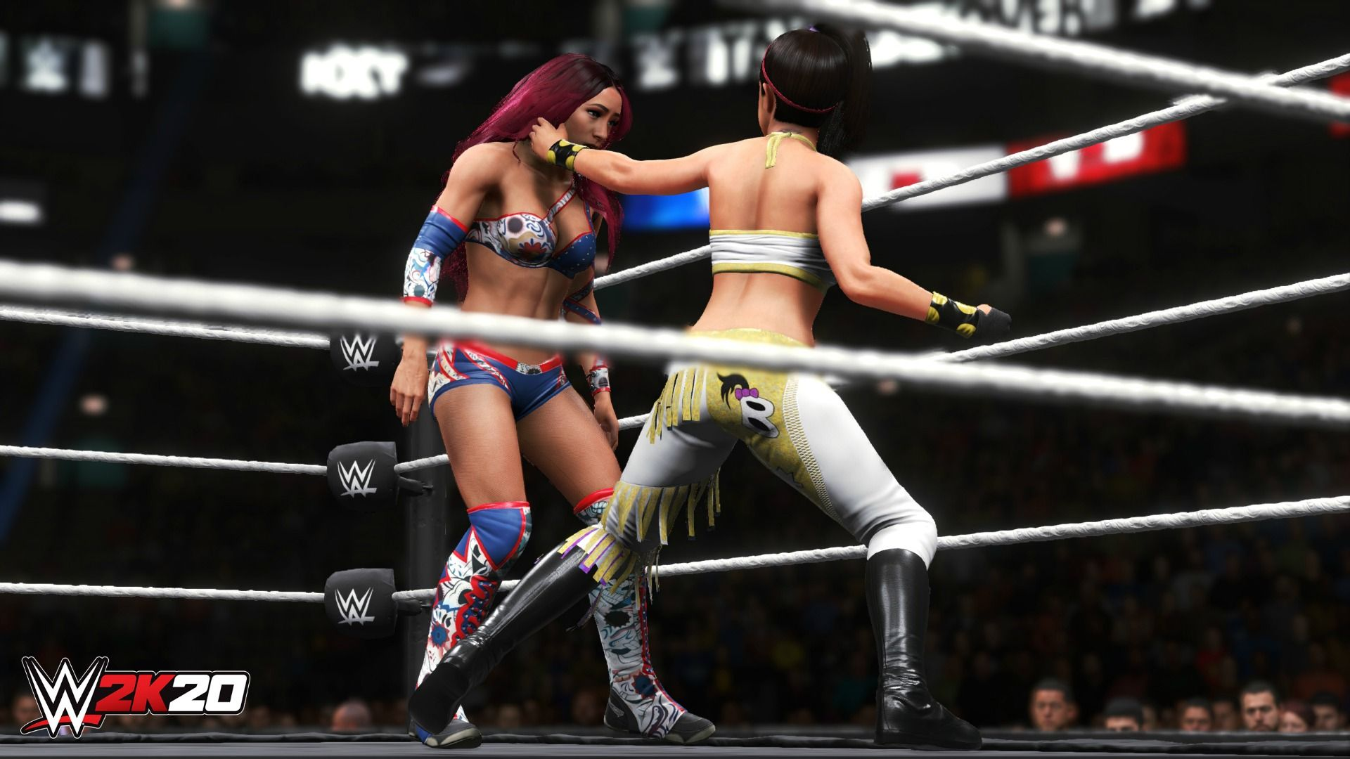 Wwe 2k20 Showcase Tells Story Of Women U2019s Evolution