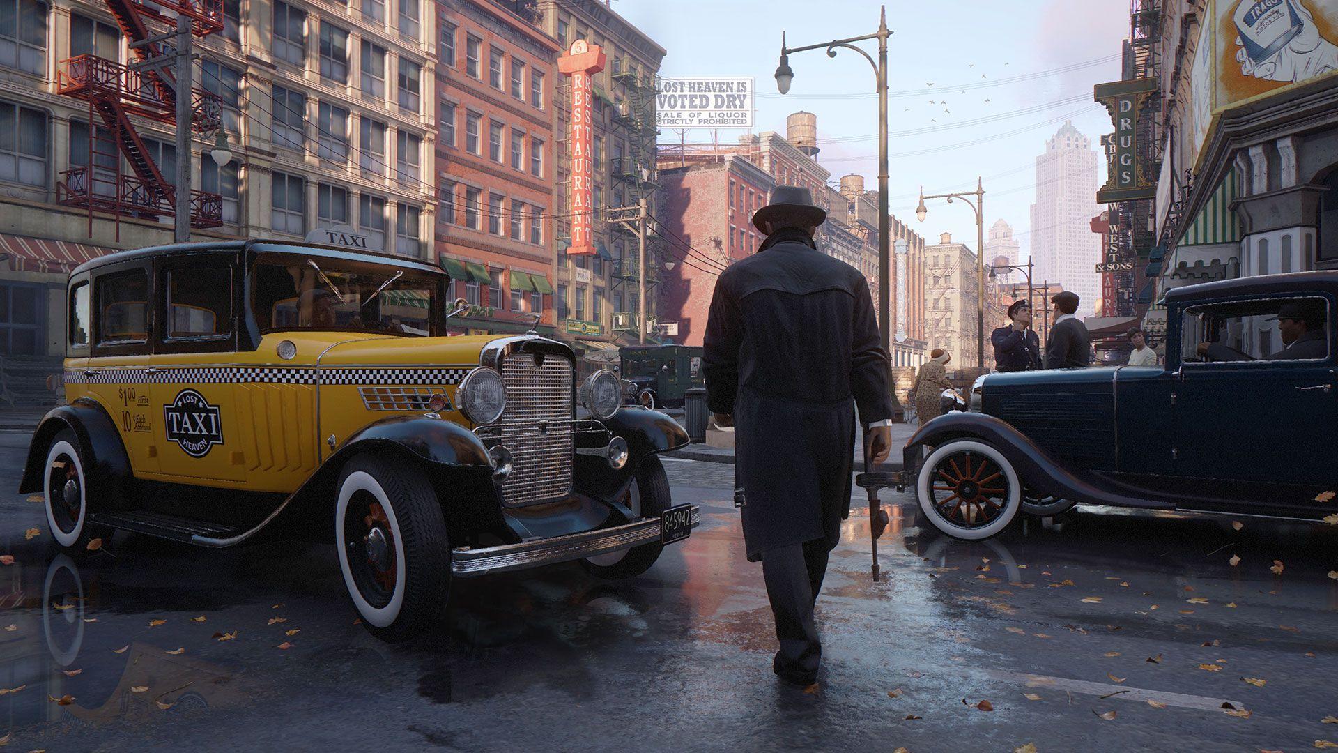 Mafia: Definitive Edition's visuals look great.