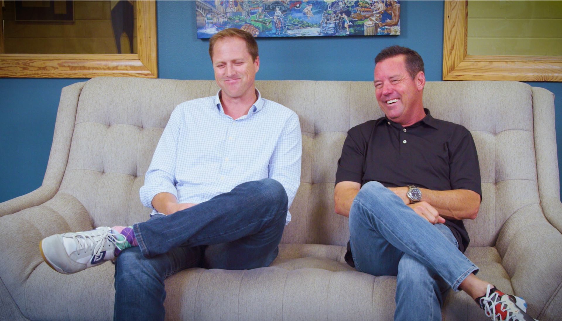 Luke Elvy and Rich Beem Call Every Shot From the Tee to the Dance Floor in PGA TOUR® 2K21