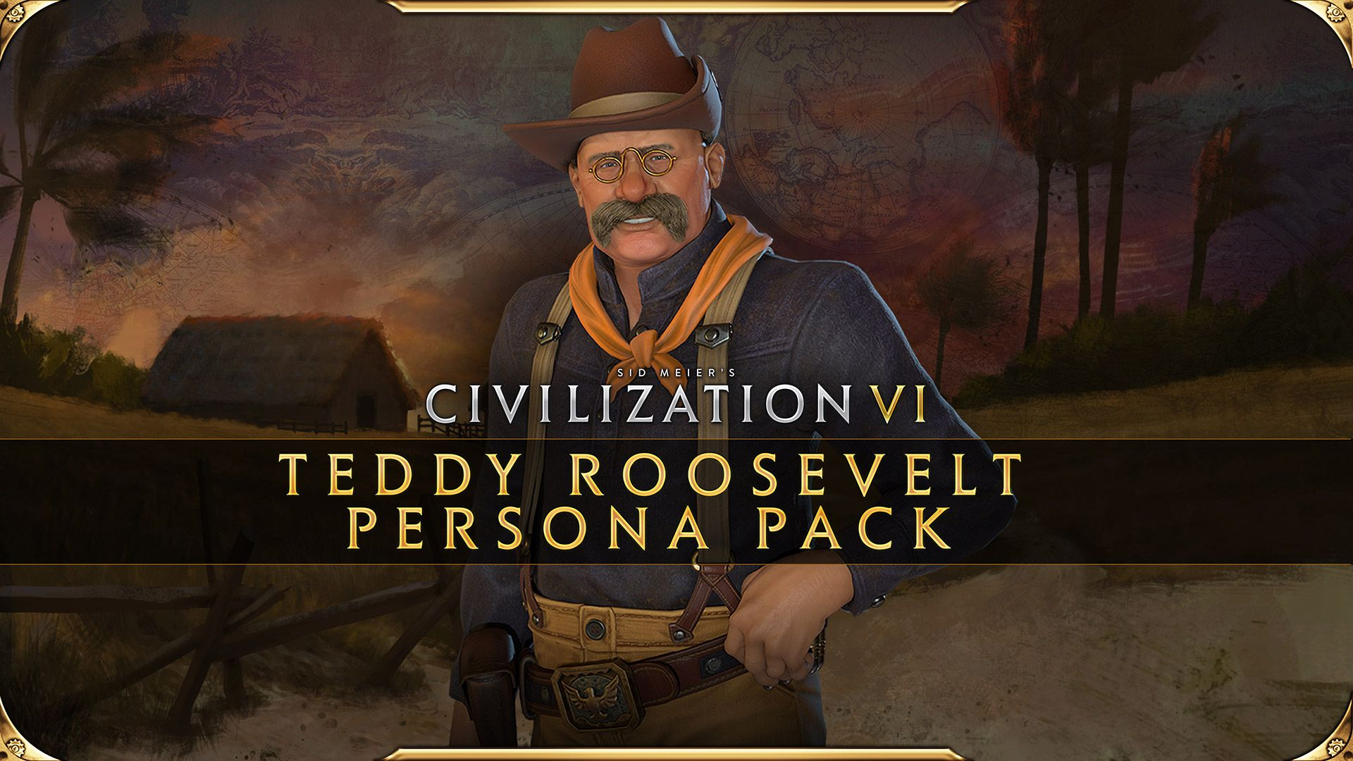 Teddy Roosevelt Persona Pack