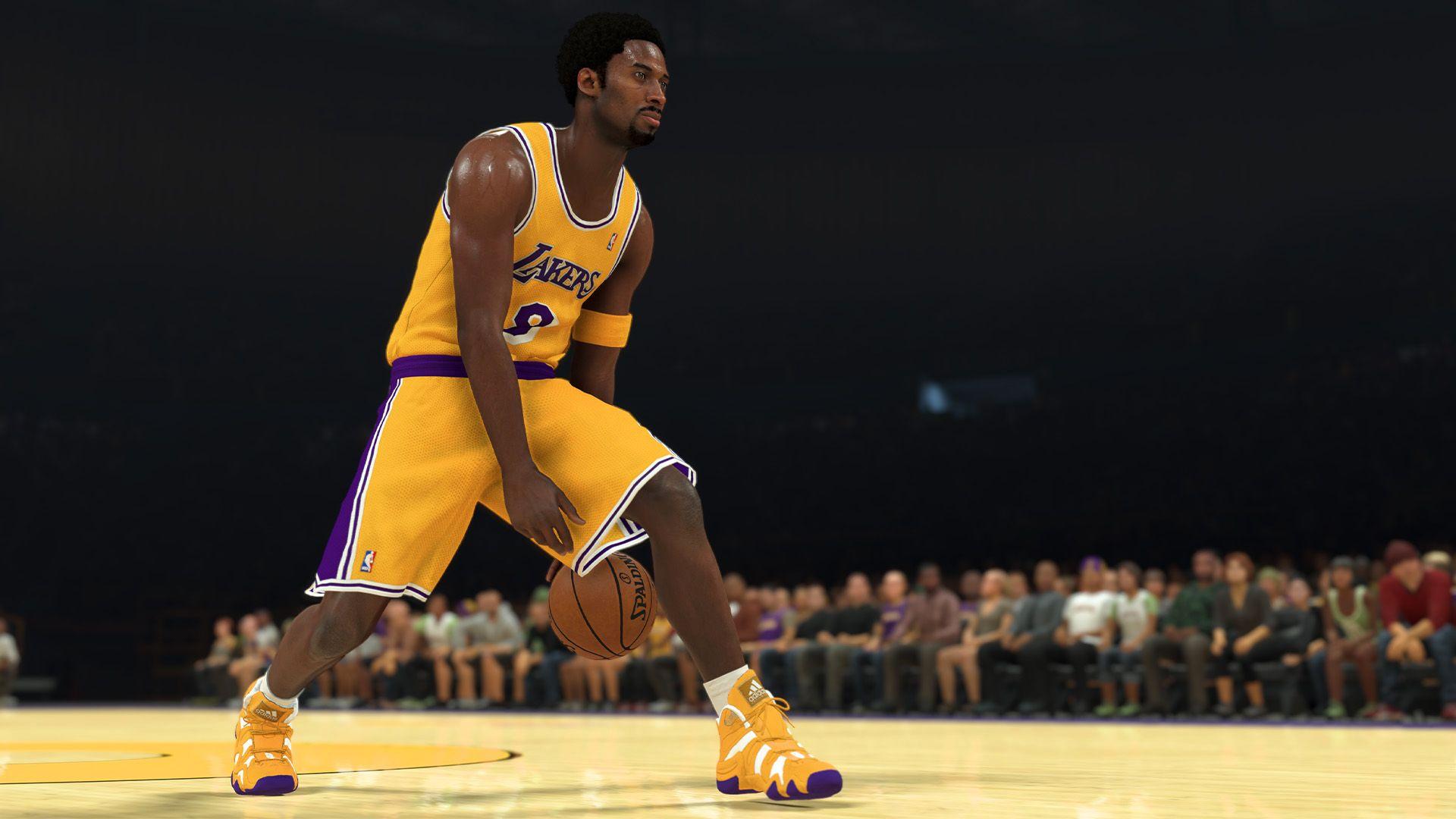 NBA 2K21 Basketball Action