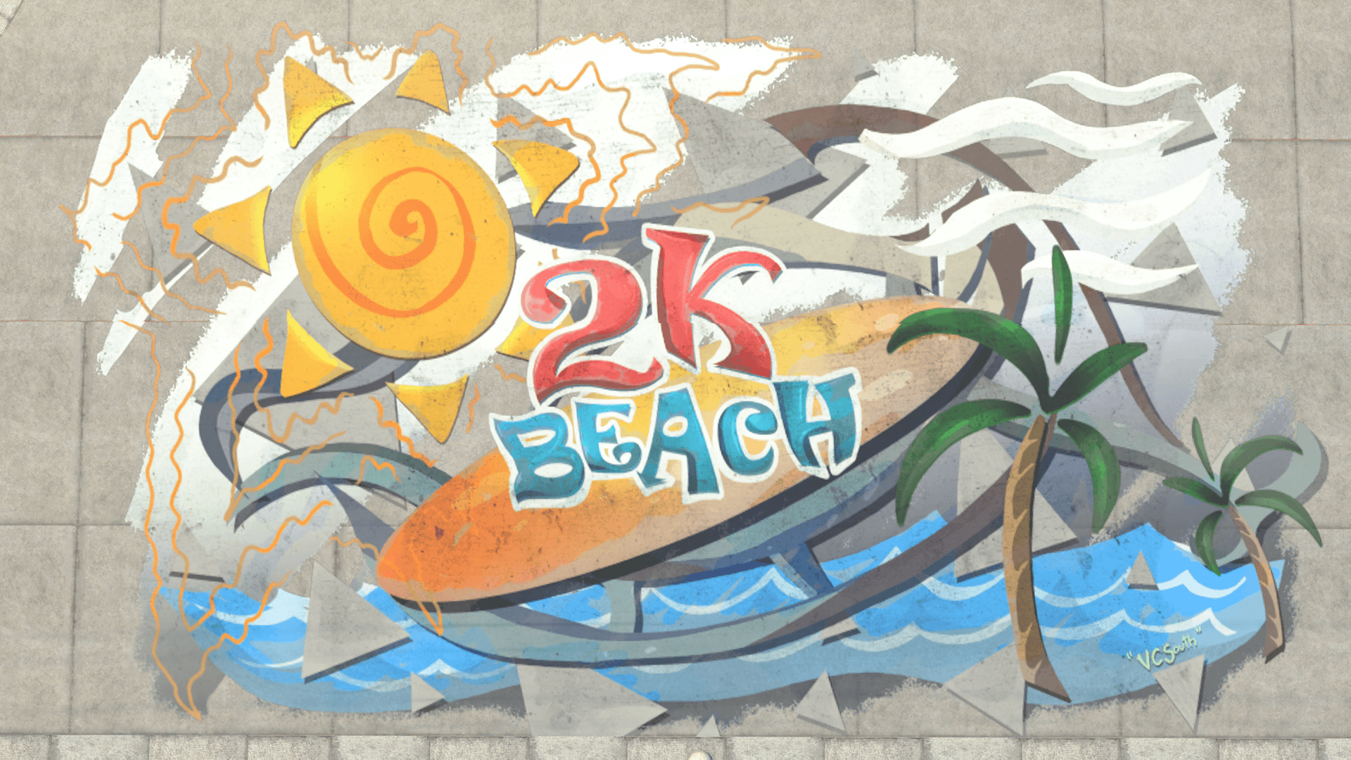 NBA 2K21 The Beach