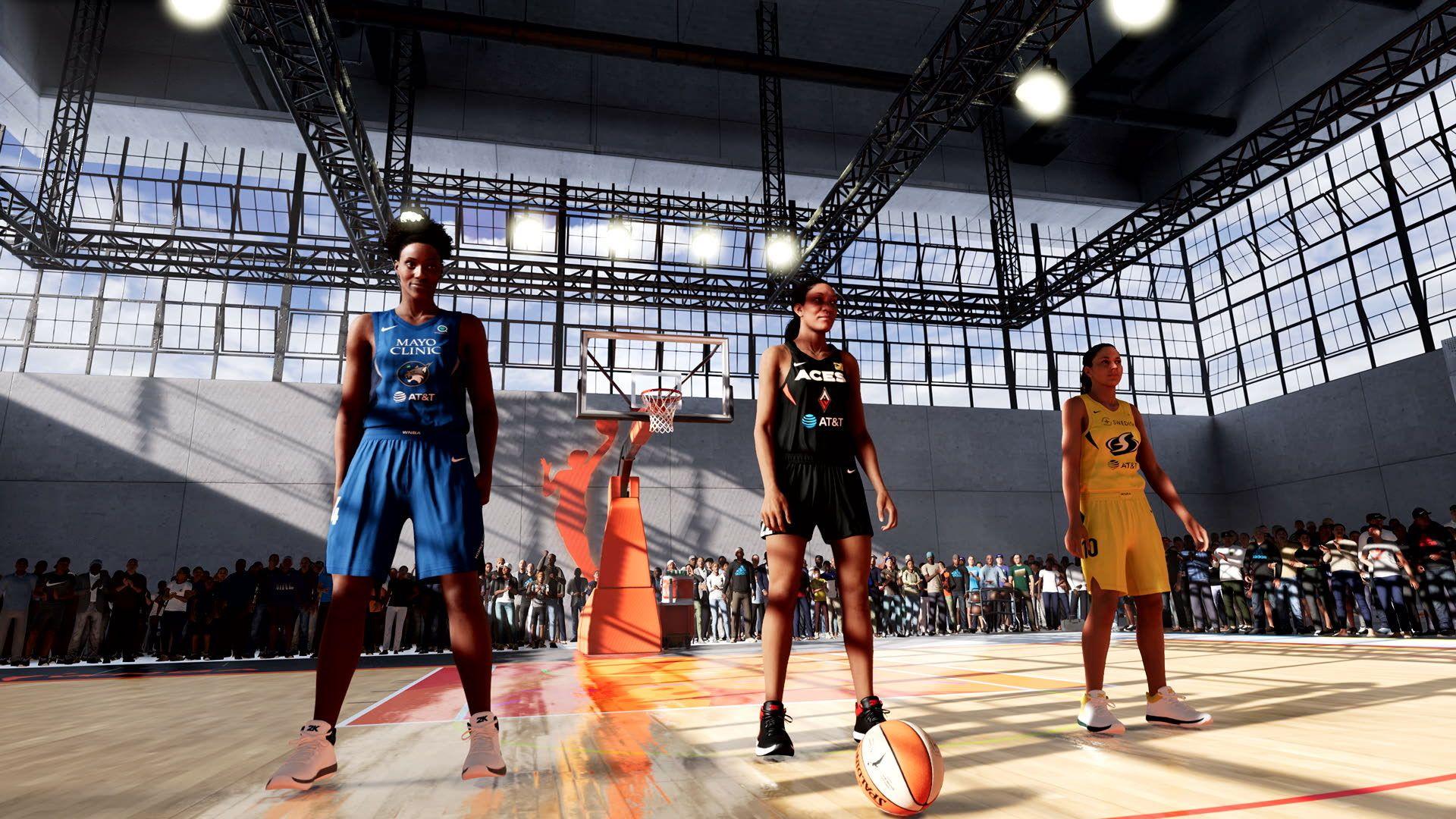 NBA 2K WNBA Online 2