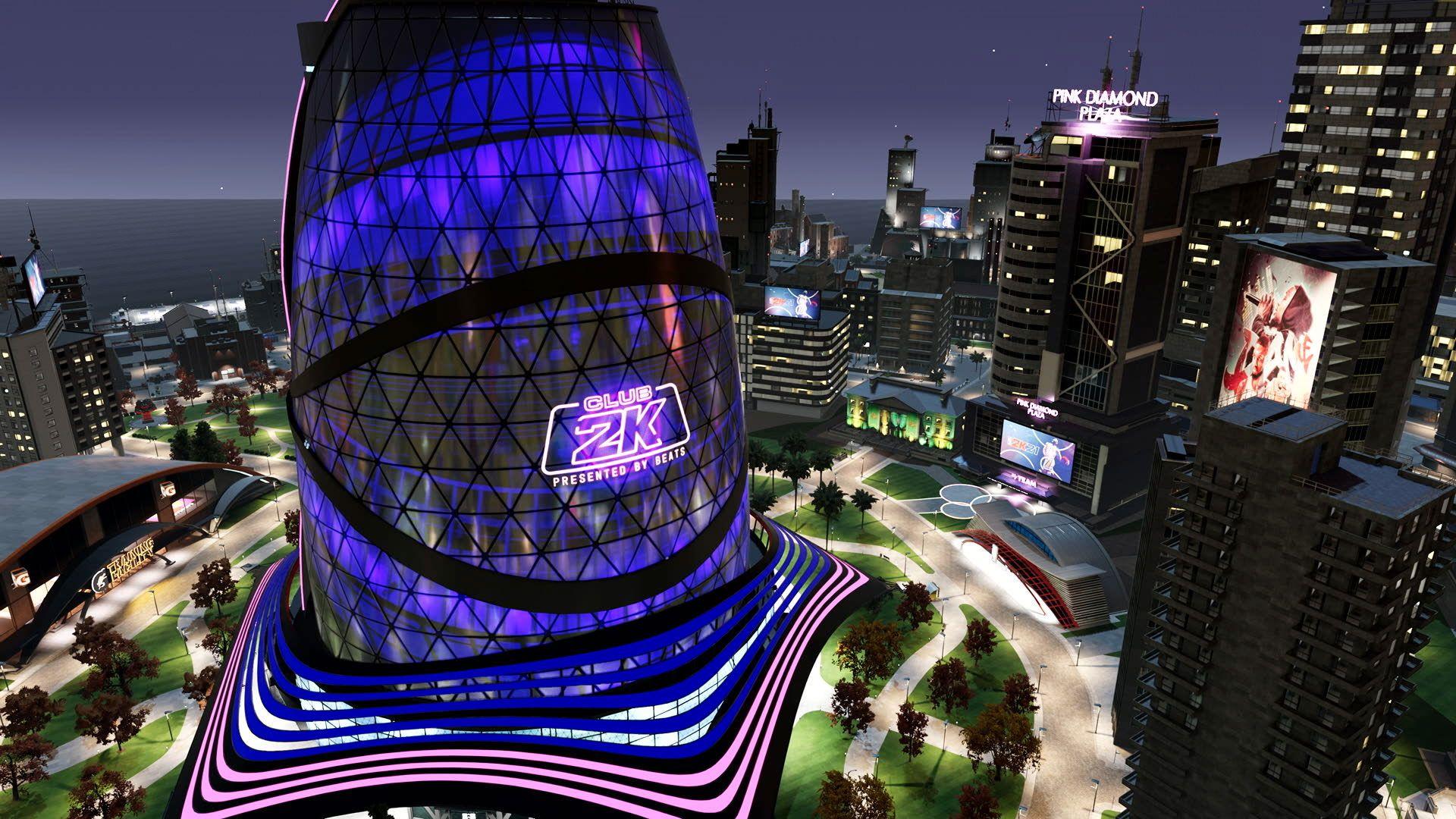 NBA 2K The City Event Center