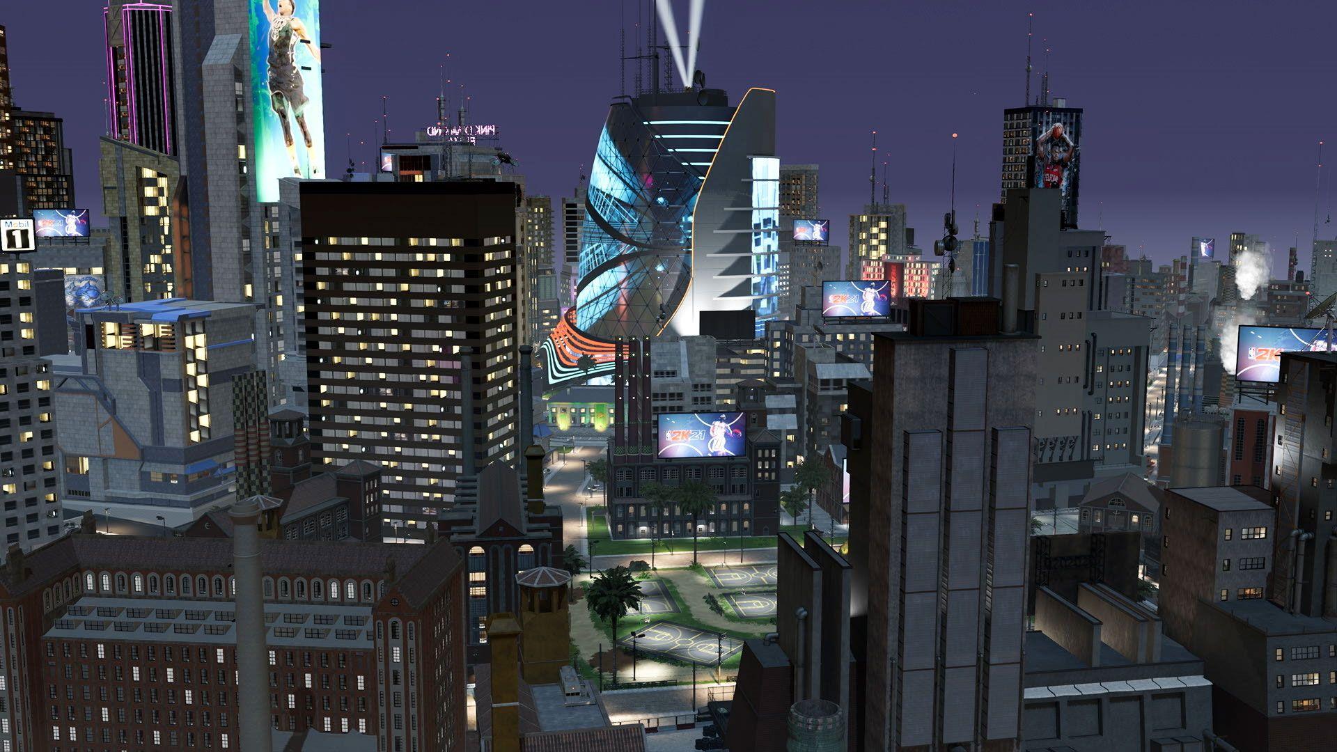 NBA 2K The City