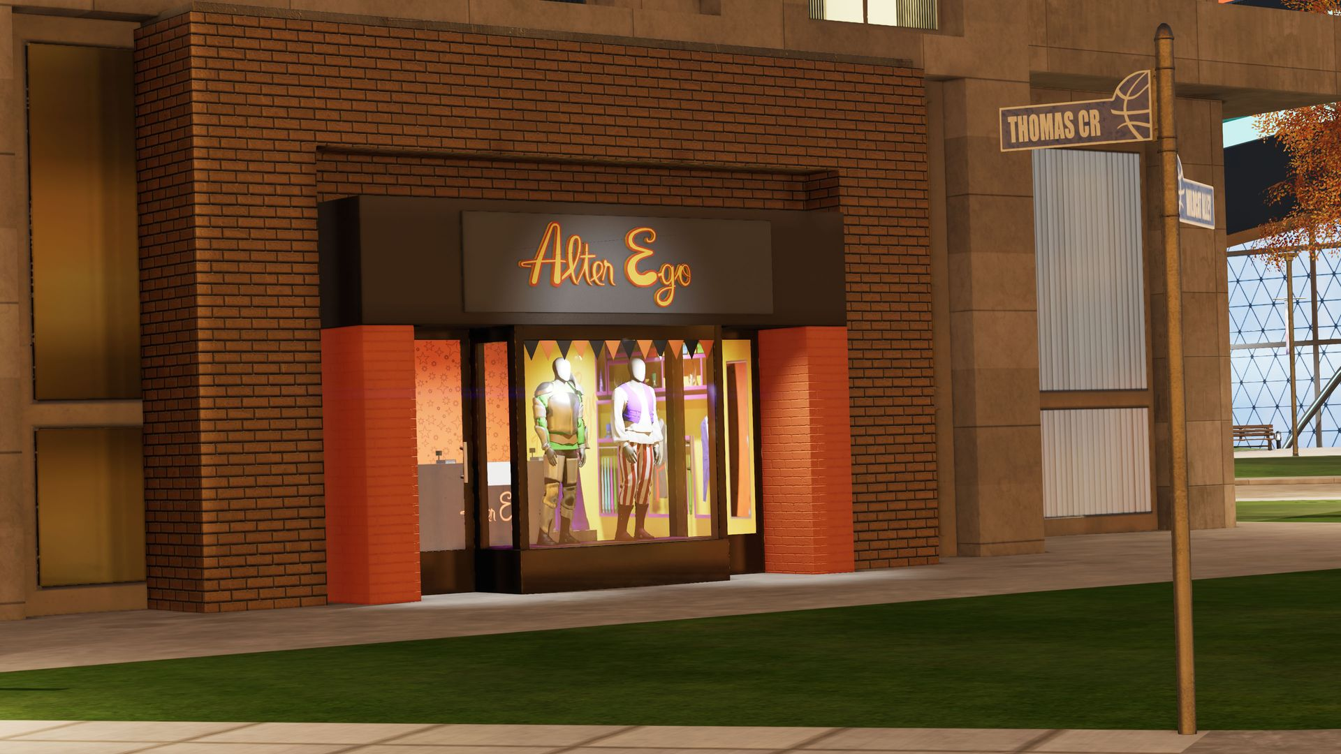 NBA 2K The City Alter Ego Store