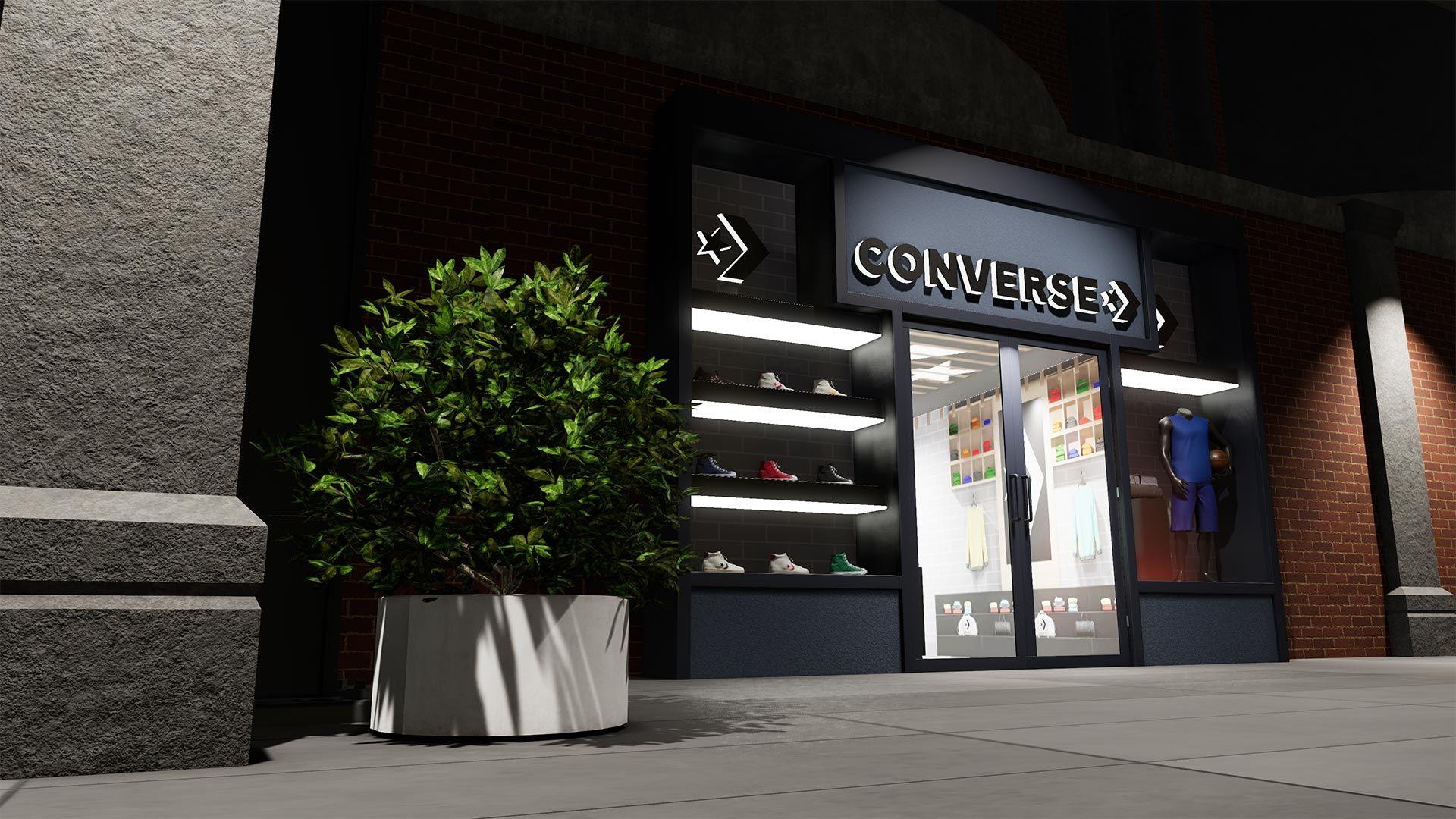 NBA 2K The City Converse Store