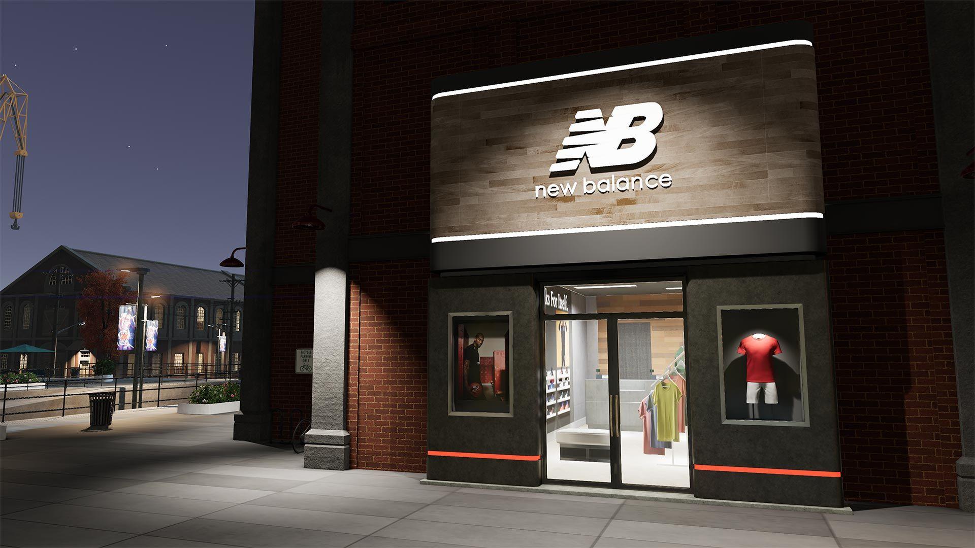 NBA 2K The City New Balance Store