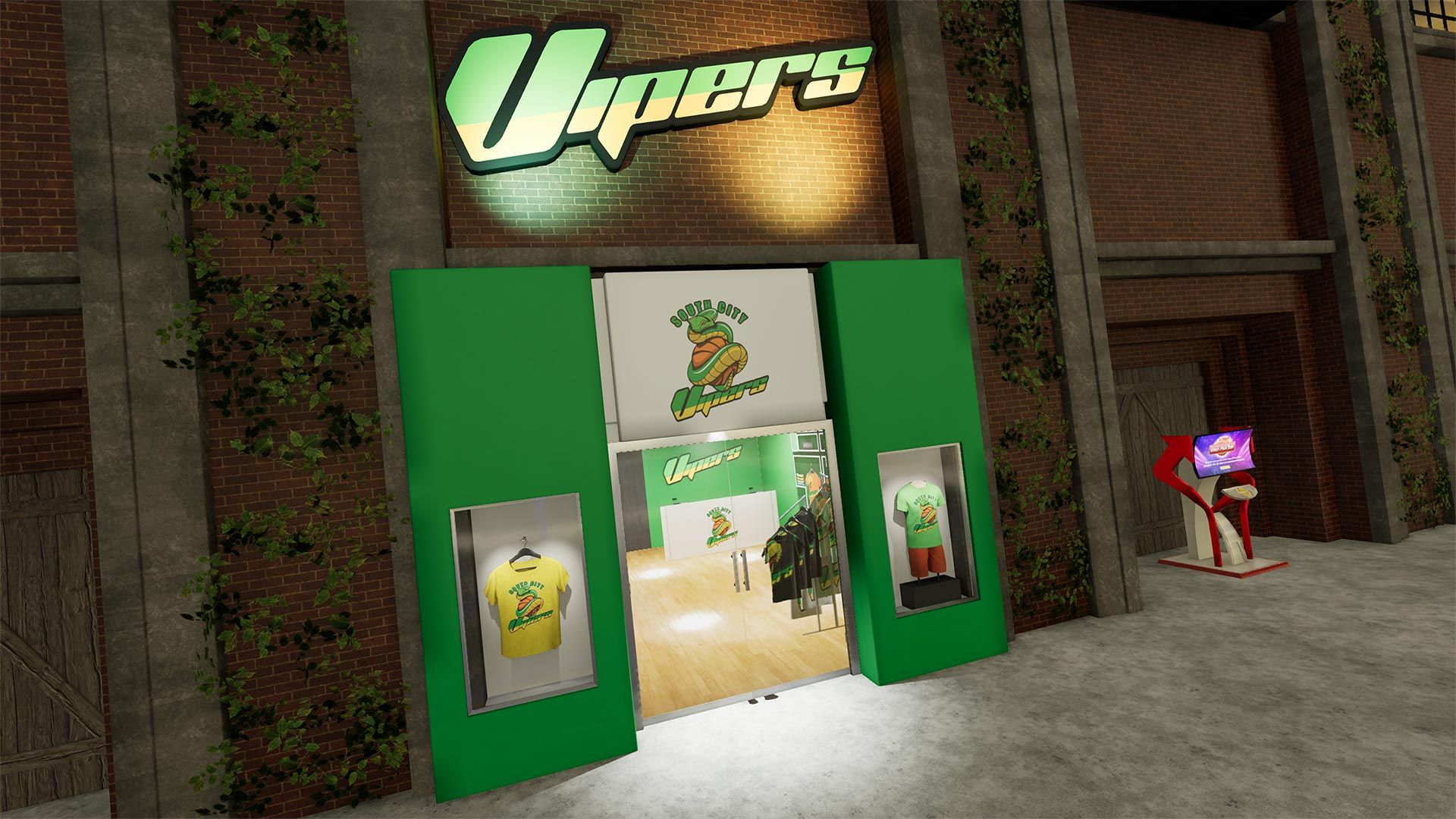 NBA 2K The City Stores