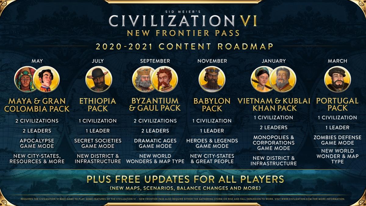 Civilization VI recibe nuevas maravillas, un modo zombie y una nueva civilización 2