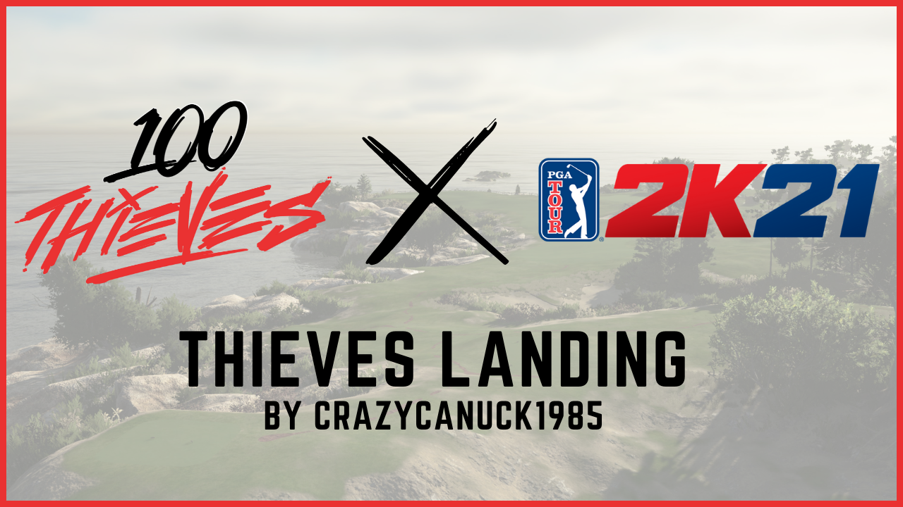 PGA TOUR® 2K21 | New User Content & 100 Thieves Collab
