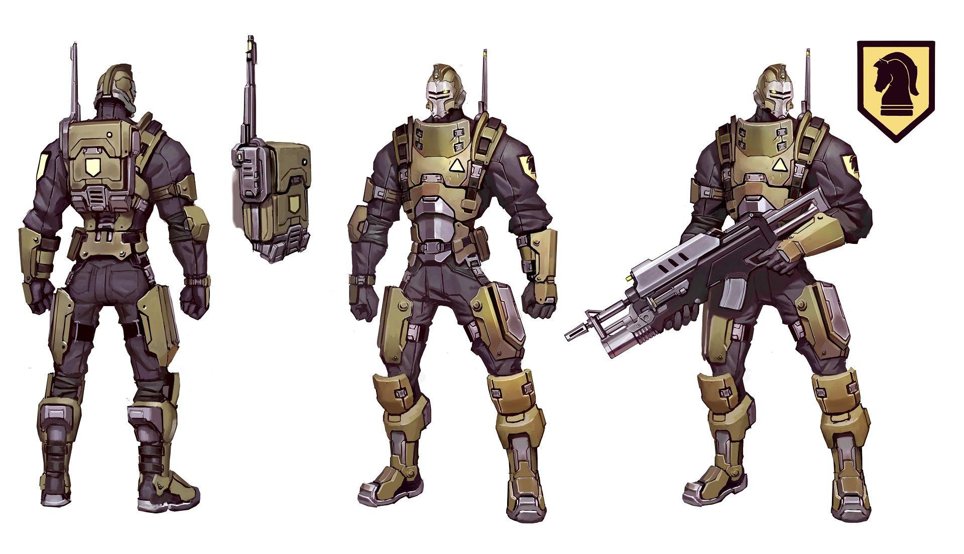 Peacekeeper Character Design Battleborn