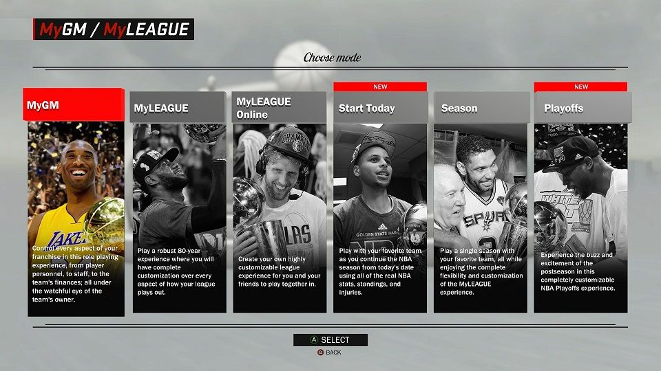 b71c6a5b2f8 NBA 2K18 | News | MyLEAGUE-MyGM Features Developer Diary