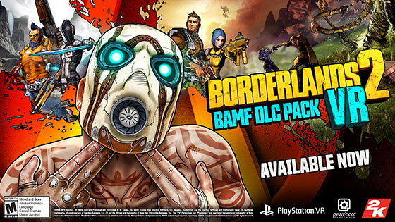 BAMF DLC added to Borderlands 2 VR for free