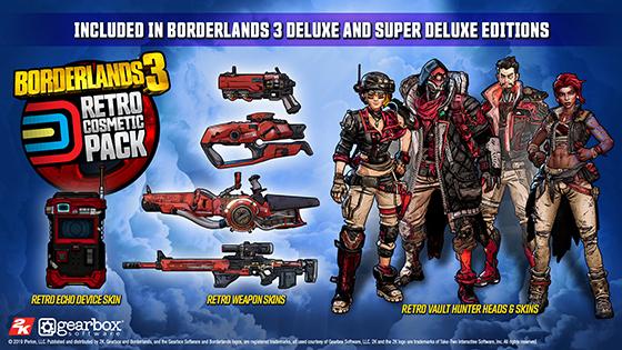 First Look: Borderlands 3 Deluxe Bonuses