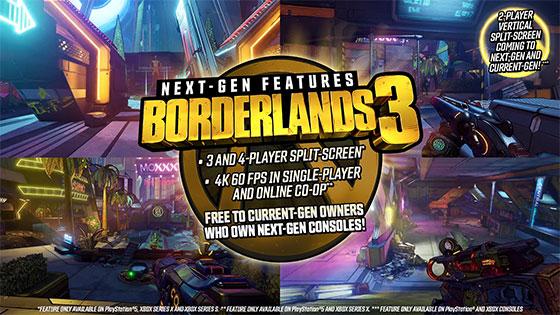 Borderlands 3 describe las mejoras para el lanzamiento de Xbox Series X 3