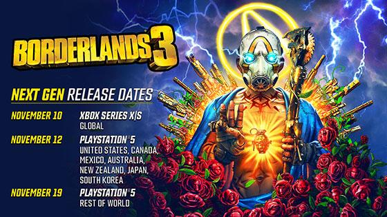 Borderlands 3 describe las mejoras para el lanzamiento de Xbox Series X 2