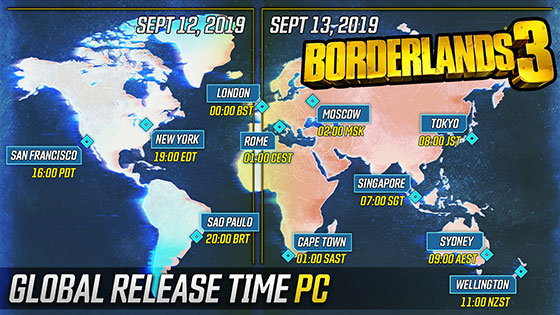 When Can You Play Borderlands 3?
