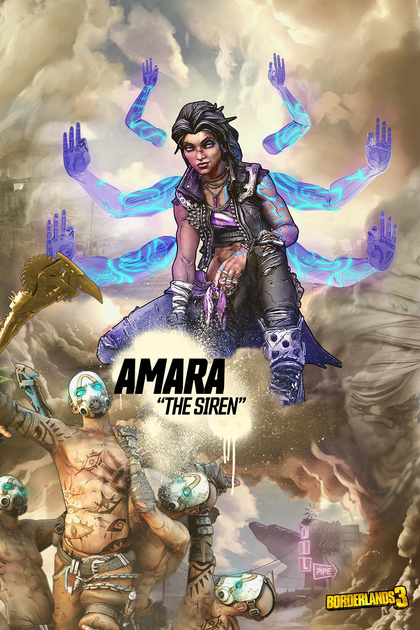 Ways to Play: Amara the Siren