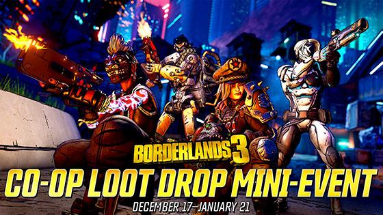 Junta a tus amigos y saquea en el nuevo evento de Borderlands 3