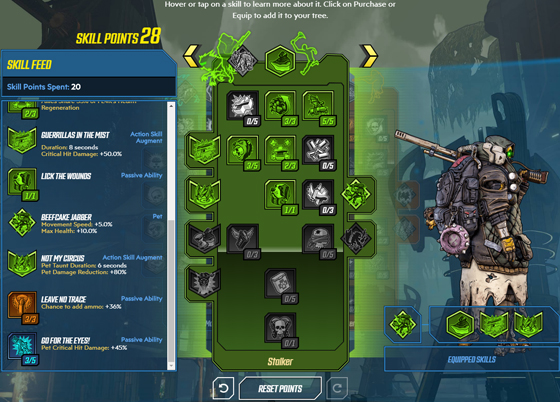 Interactive Borderlands 3 Skill Trees Are Live