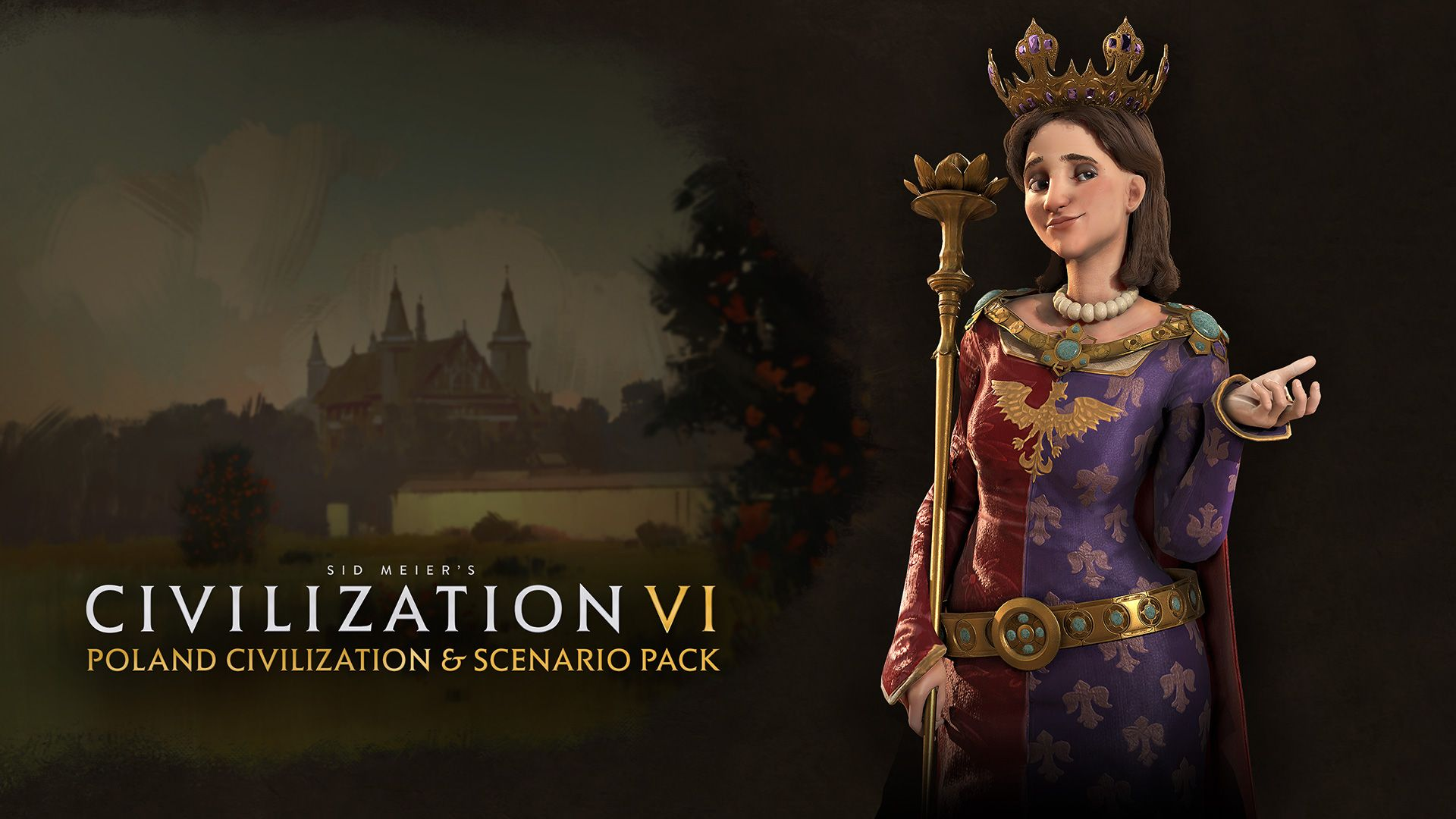 2KGMKT_CivilizationVI_DLC-Poland_Key_Art