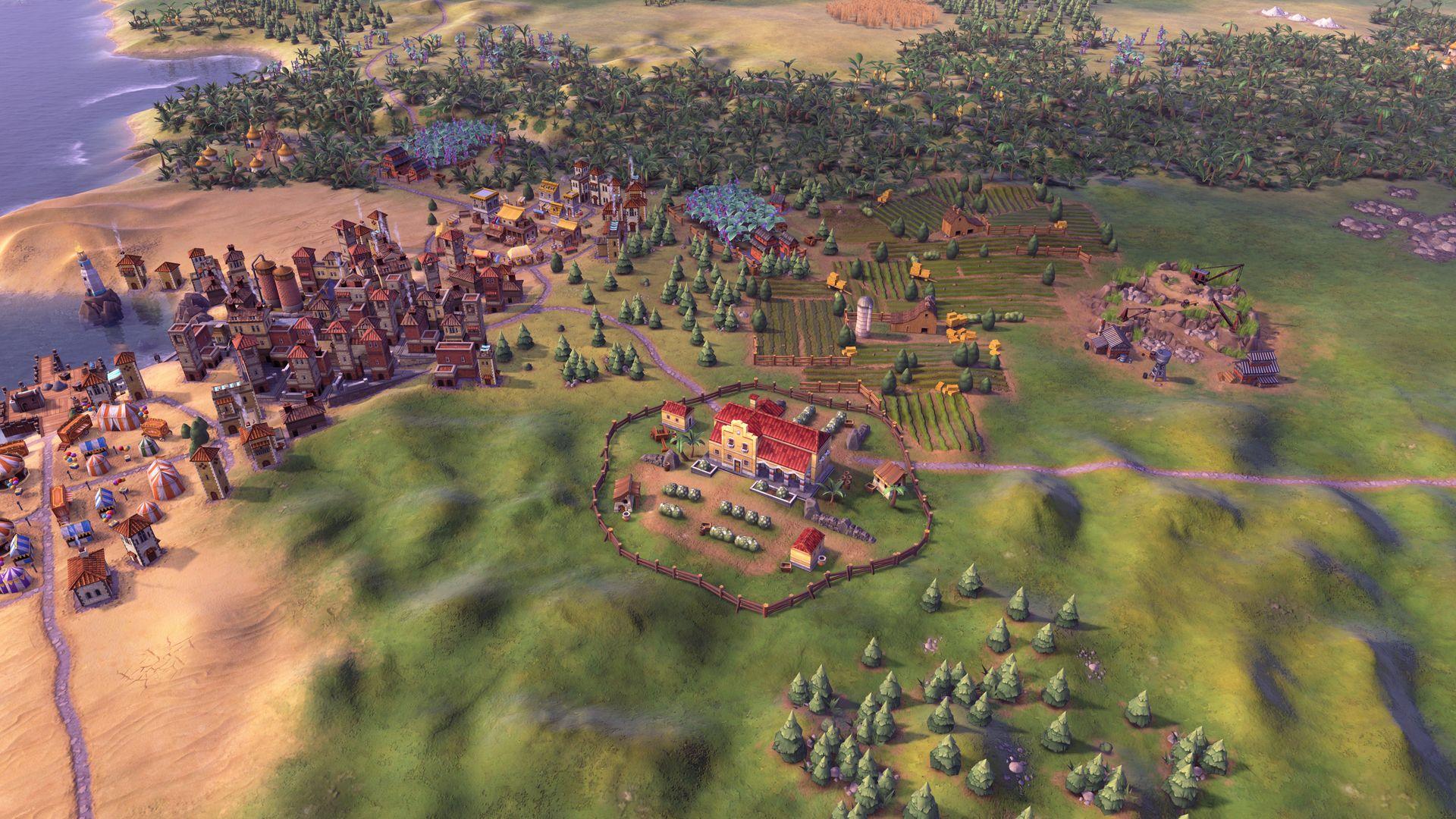 Es el turno de presentar a la Gran Colombia en Civilization VI 2