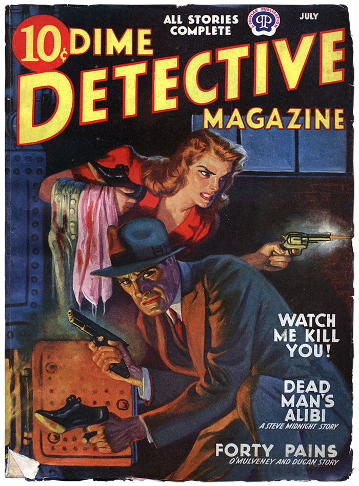 «Дешевый журнал» — это истории о суровых буднях крутых частных детективов!
