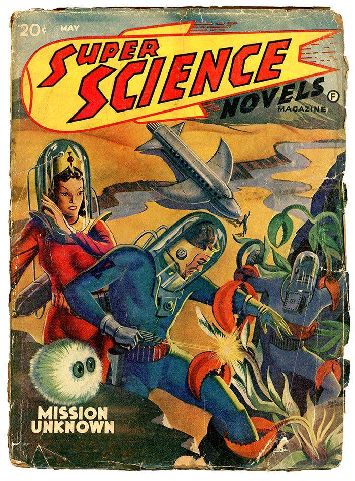 «Удивительные научные рассказы» — это странные создания, фантастические технологии и чужие планеты!