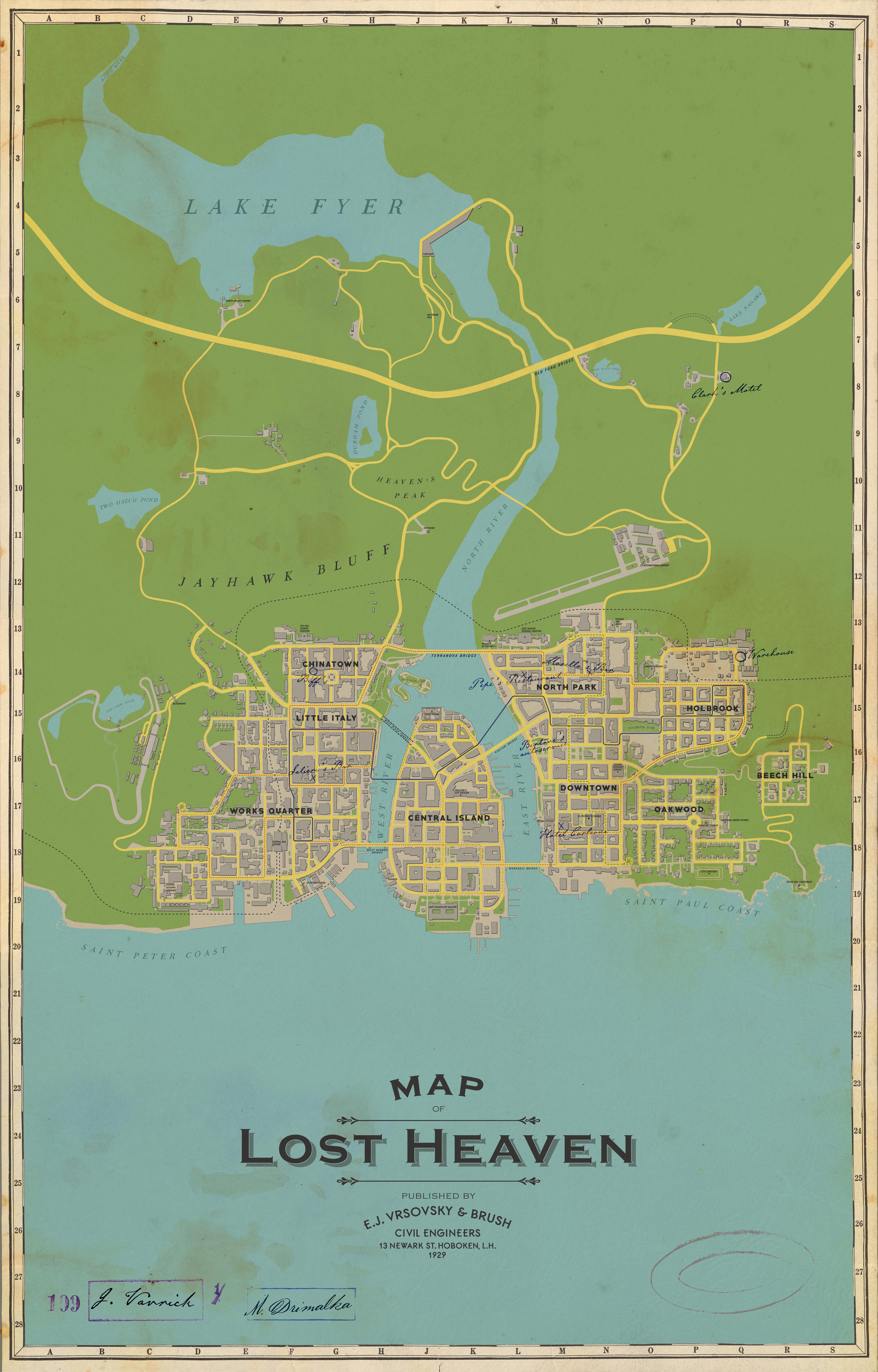 Mafia: Edycja Ostateczna - mapa