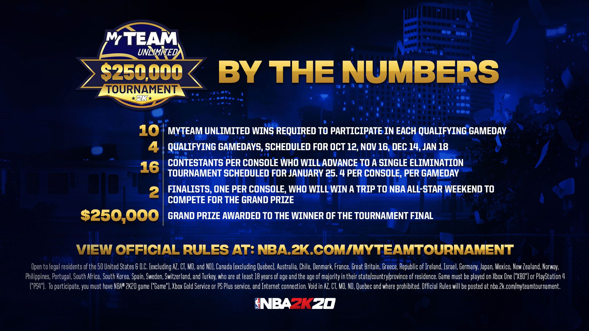 Myteam Unlimited 250 000 Tournament