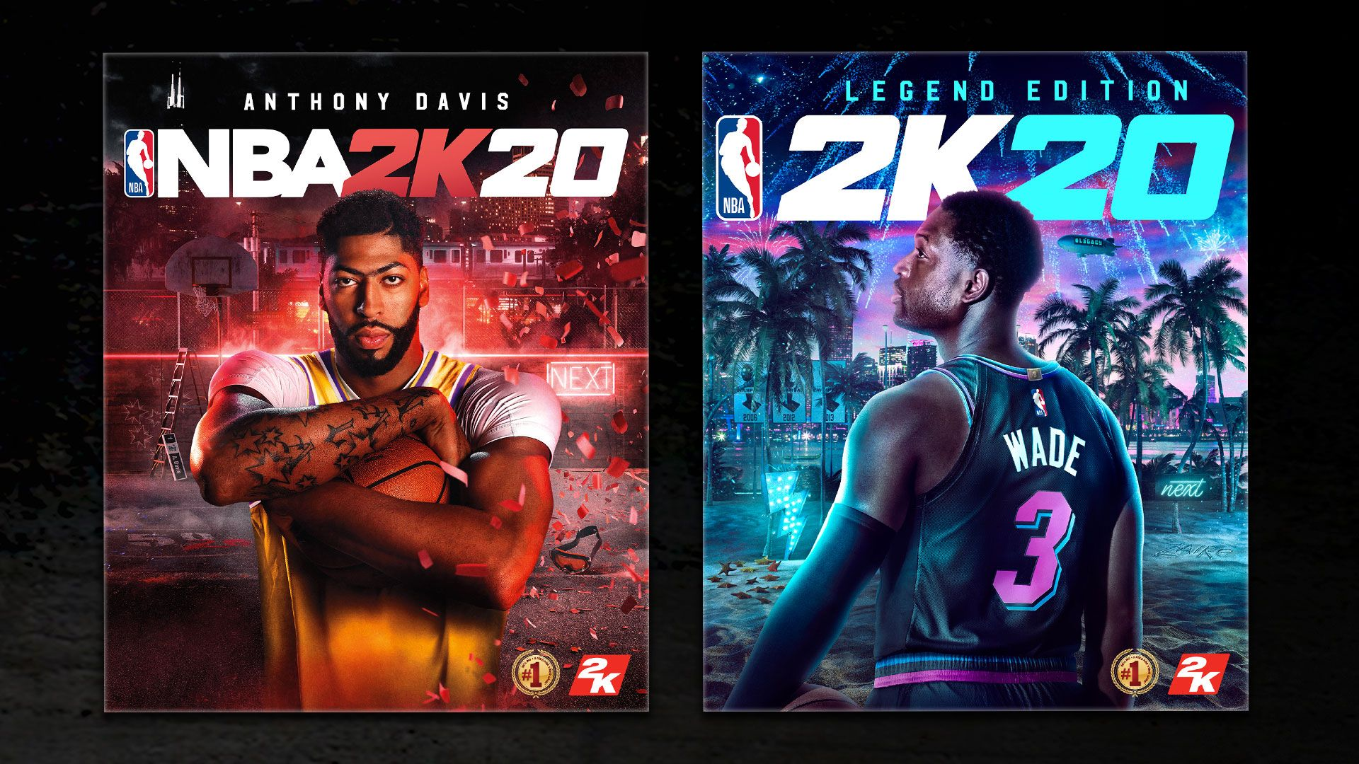 Davis And Wade Unveiled As Cover Stars For Nba 2k20