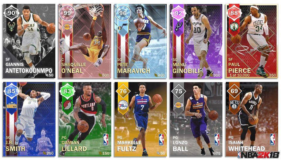 NBA 2K18 | News | MyTEAM 2K18 Dev Blog