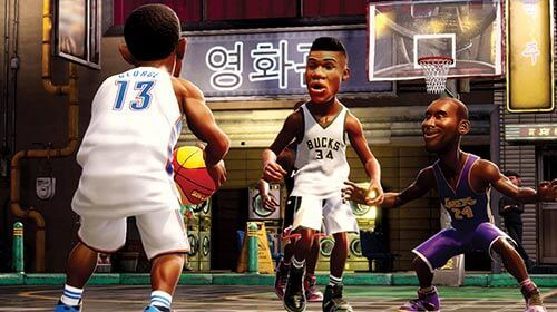 Nba 2k playgrounds collect over 400 nba players from all time greats michael jordan kobe bryant dr j to current stars karl anthony towns jayson tatum ben simmons stopboris