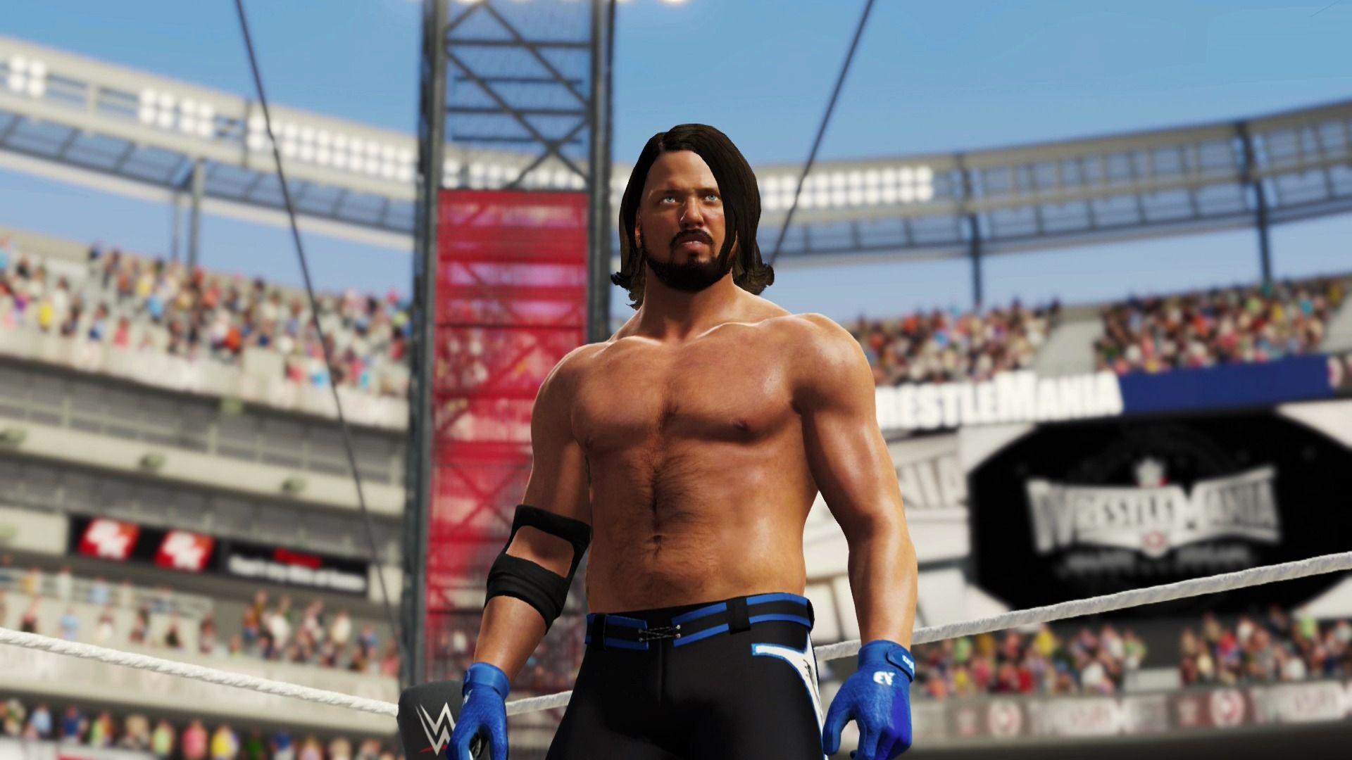 WWE 2K17 WrestleMania Dea