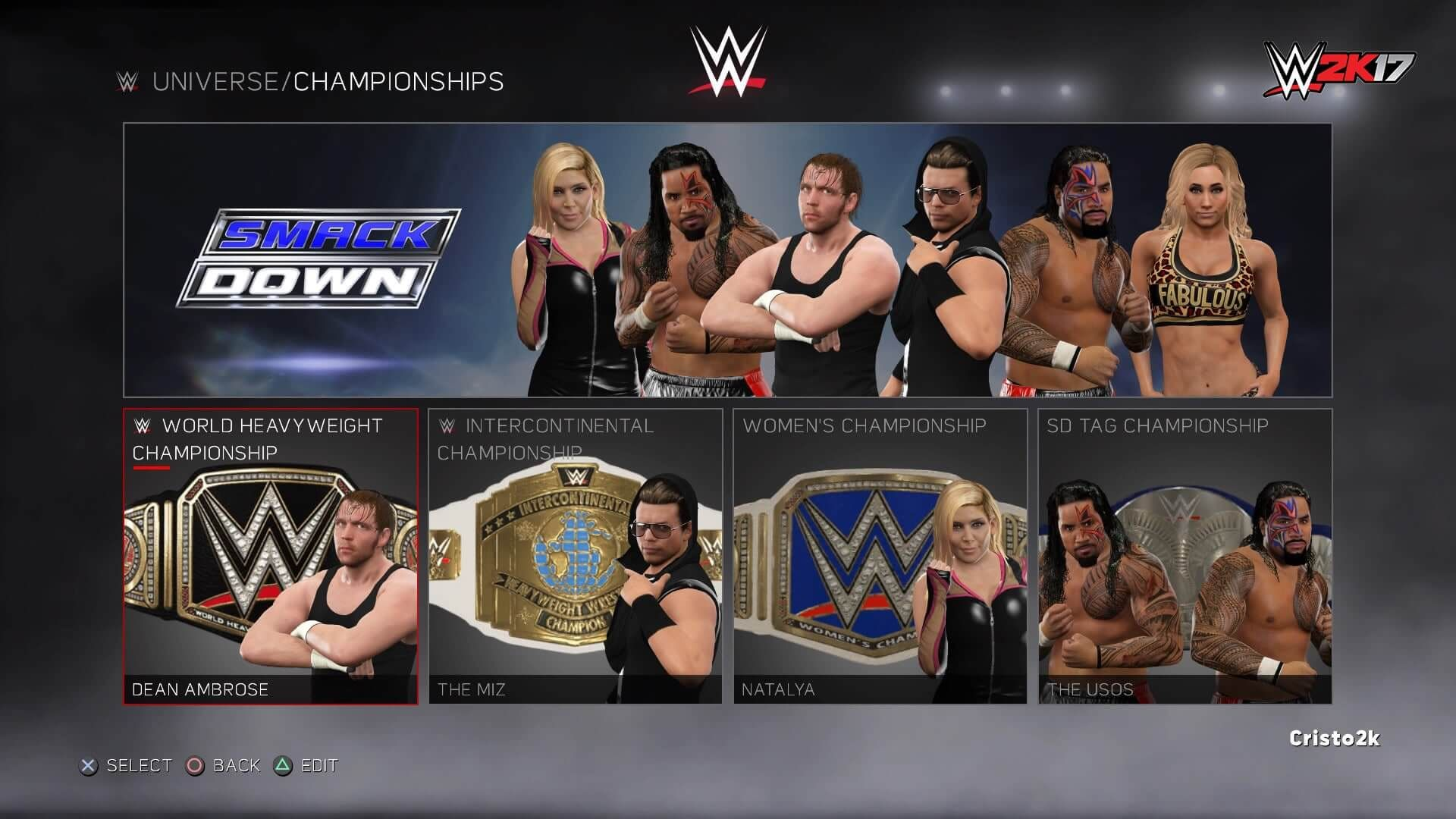 A look into WWE 2K17's Universe Mode