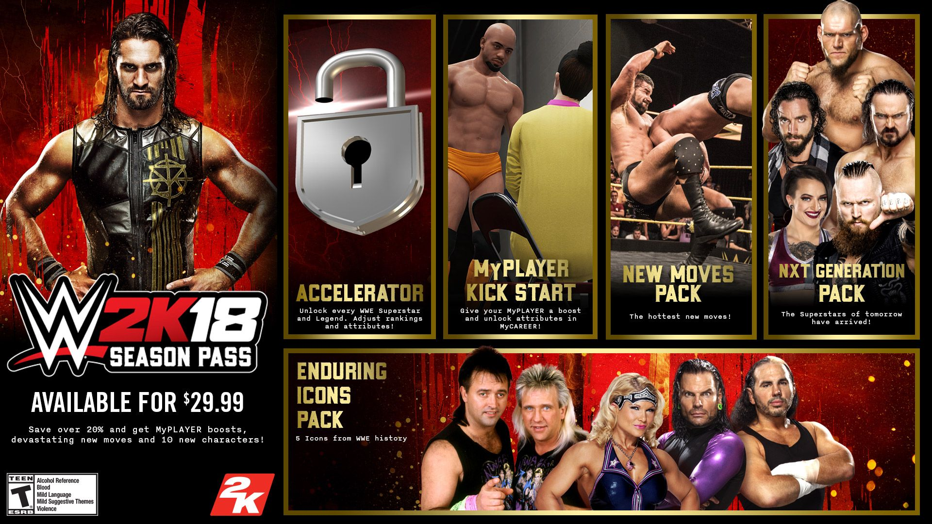 WWE 2K18 DLC Revealed
