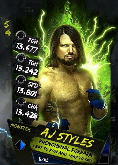 AJ Styles Monster
