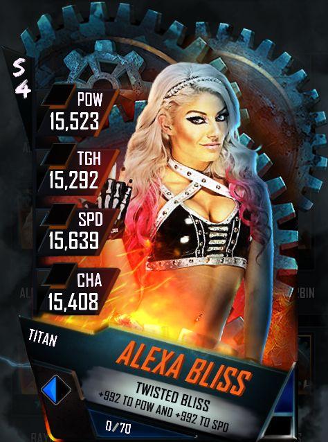 Alexa Bliss Titan