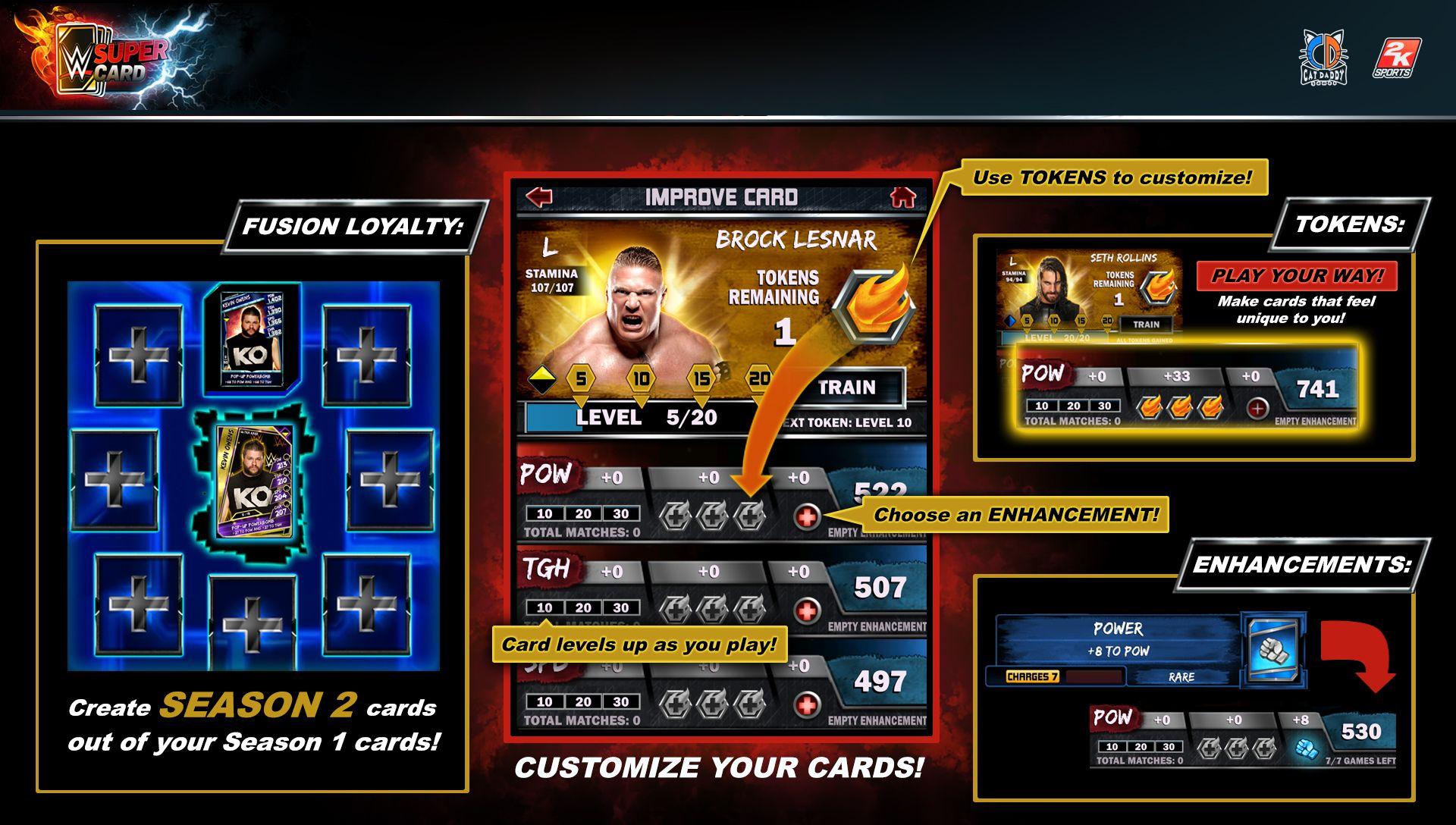 Introducing Season 2 of WWE SuperCard