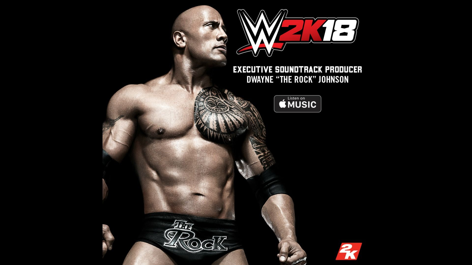 wwe 2k news dwayne the rock johnson is executive soundtrack