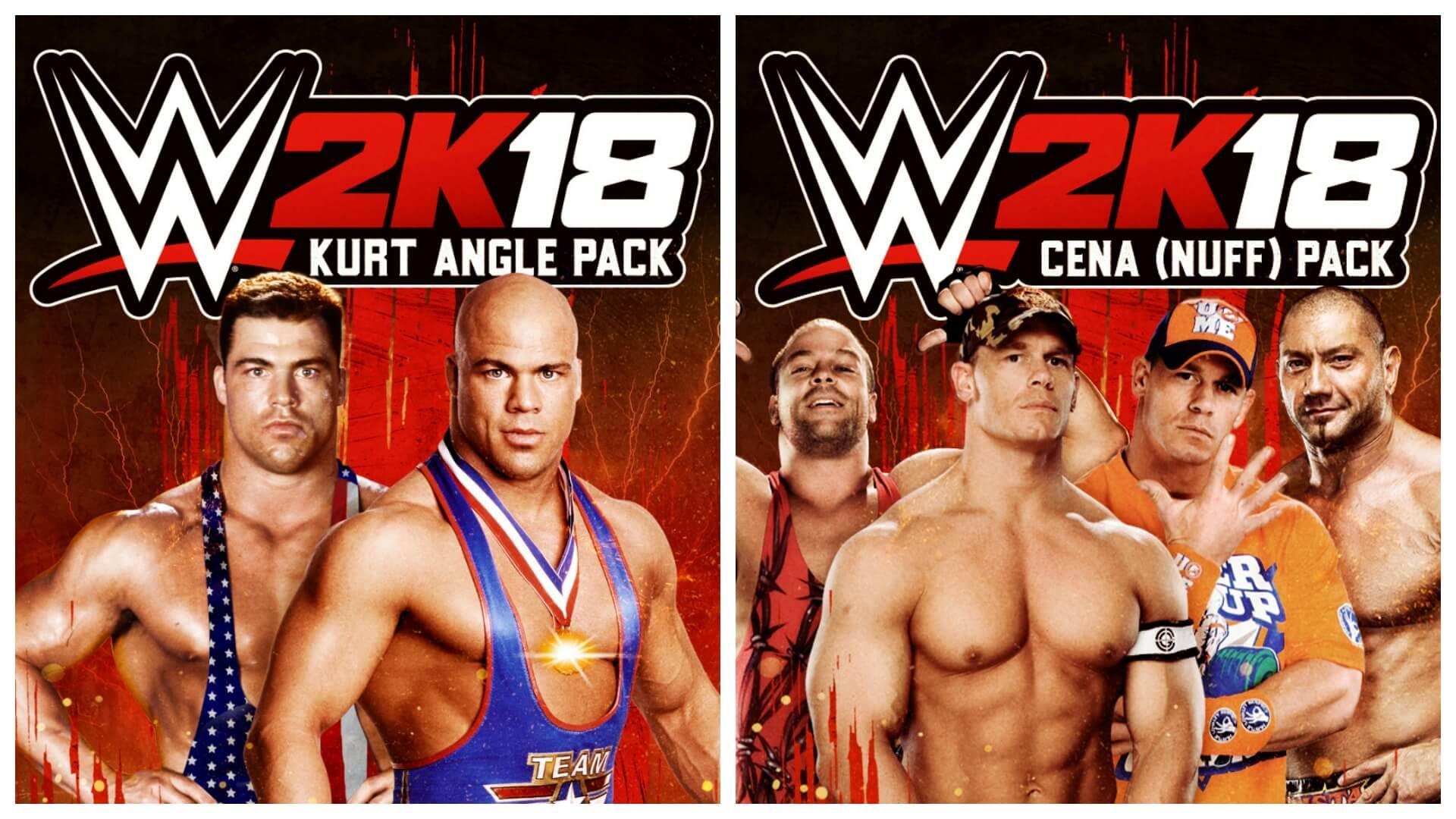Hai dimenticato di prenotare WWE 2K18 o magari hai acquistato l'edizione standard? Niente paura. Ora il pacchetto Kurt Angle e il pacchetto Cena (Nuff) sono ...