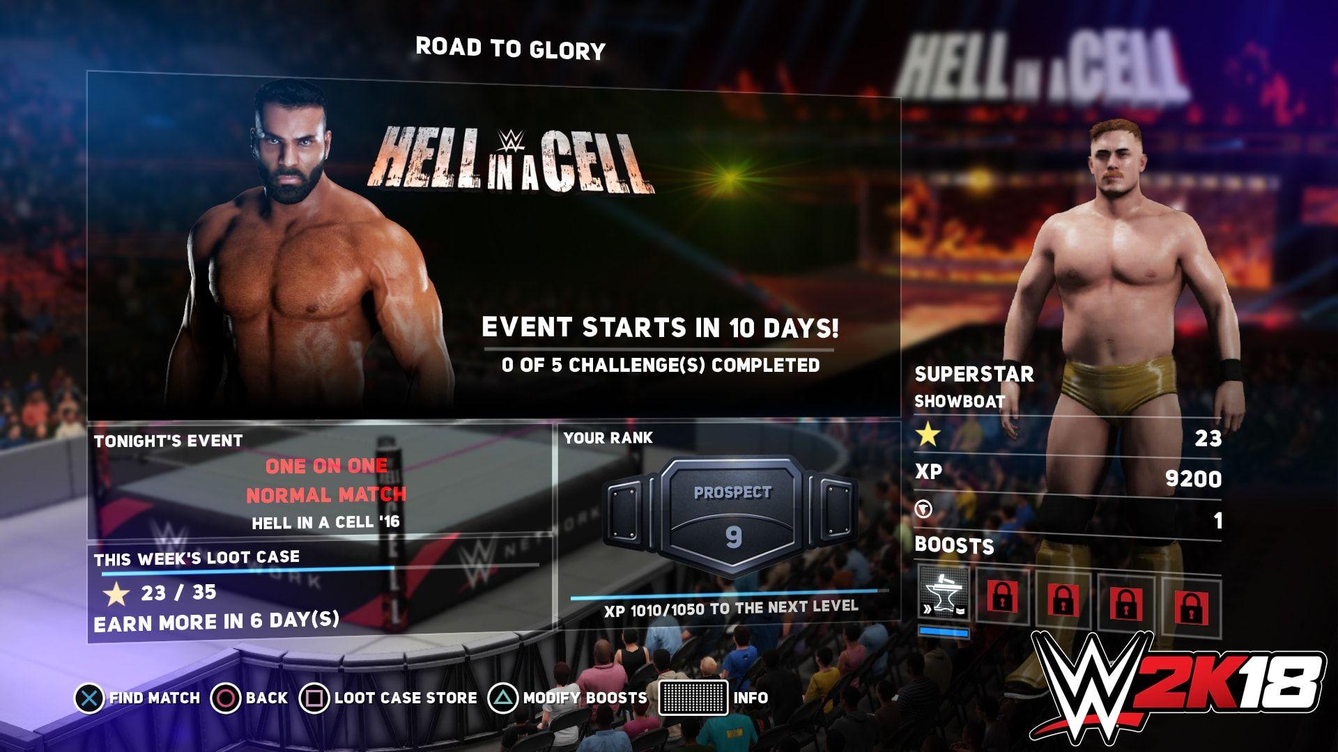 WWE 2k15 matchmaking en ligne
