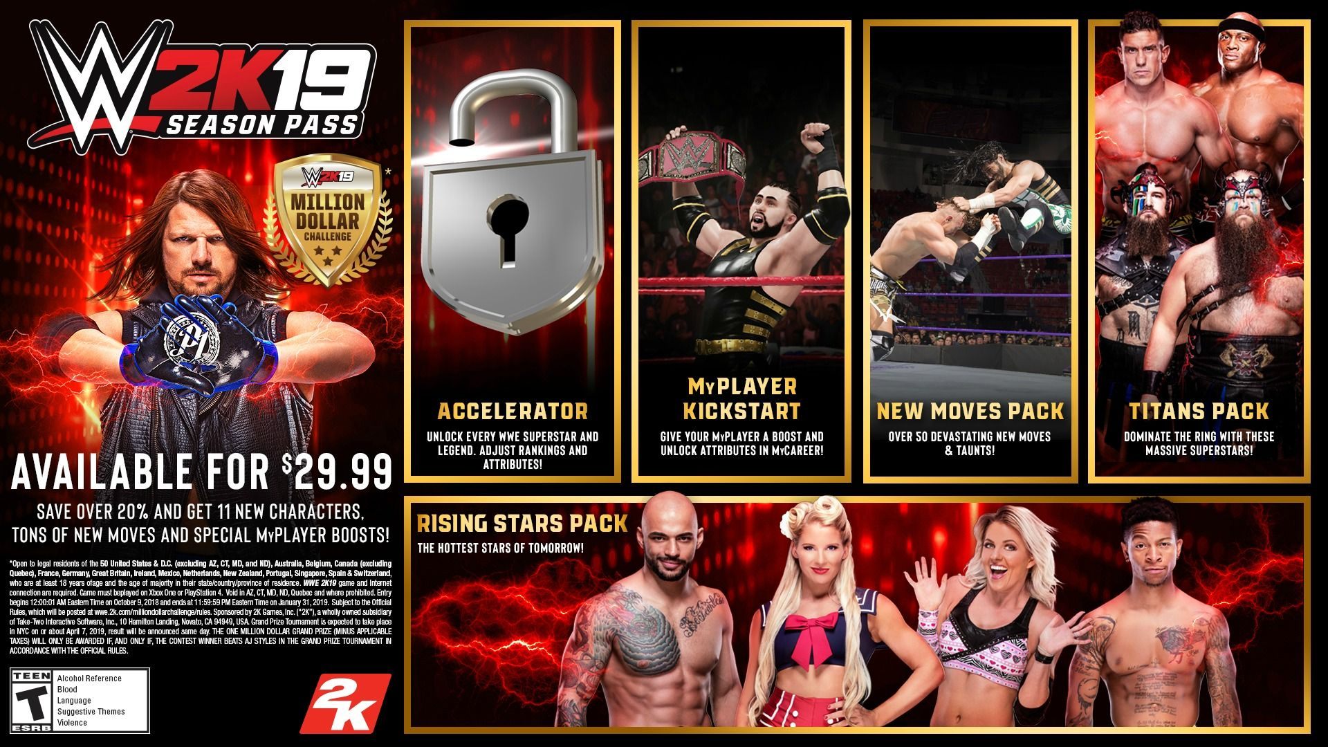 WWE 2K19 Downloadable Content