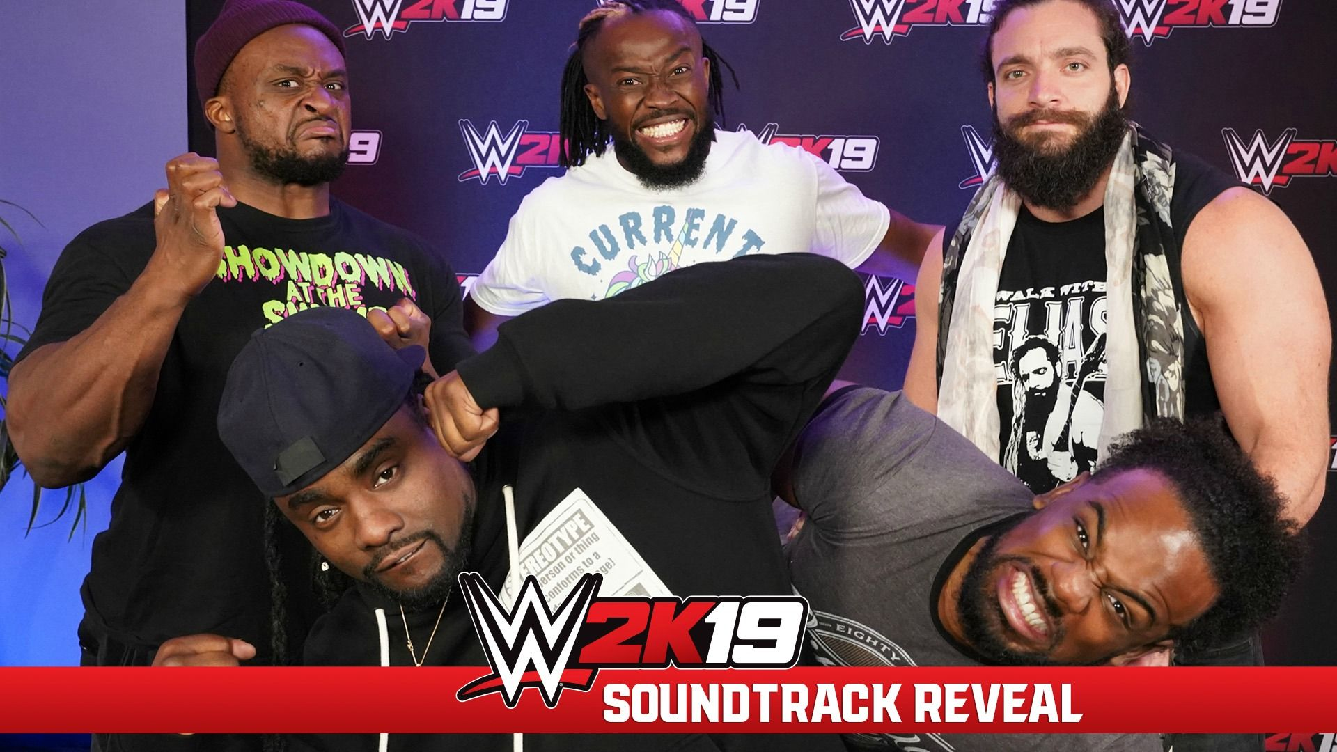 WWE Superstars Select The WWE 2K19 Soundtrack