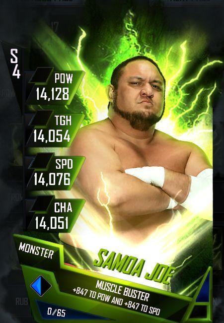 Samoa Joe Fusion