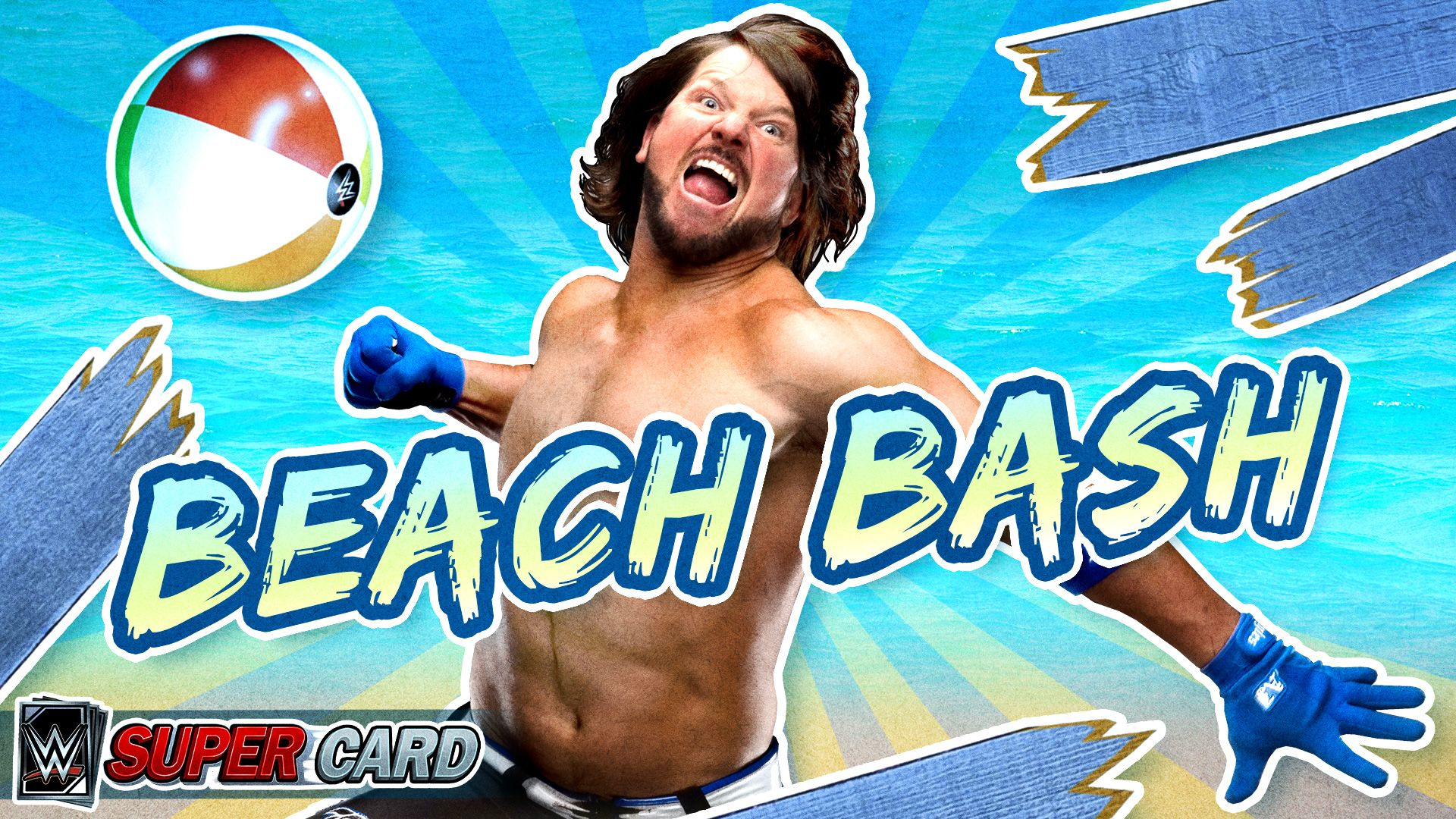 WWE SuperCard celebrates Fourth of July with Beach Bash Summer Promotion