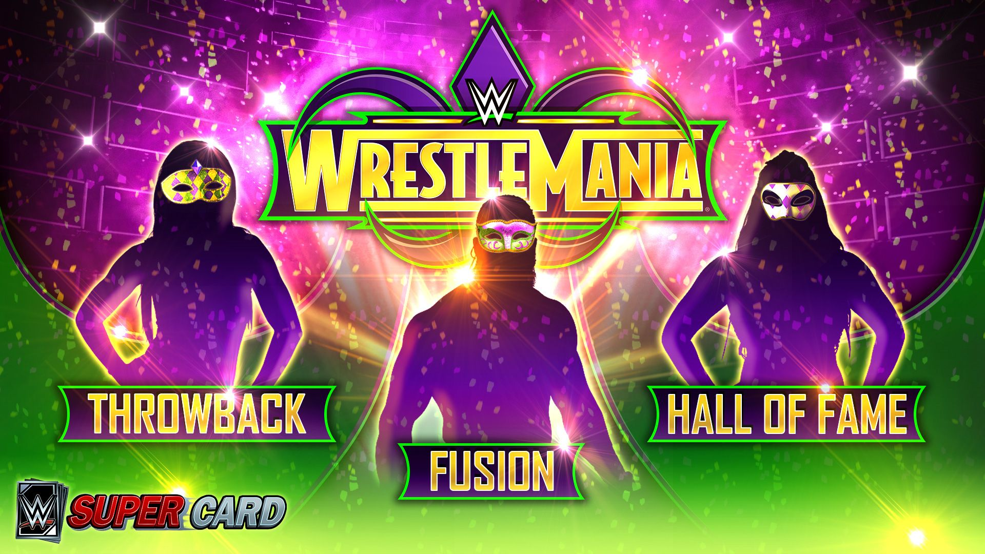 Wwe Supercard News Wrestlemania 34 Throwback Fusion And Hall