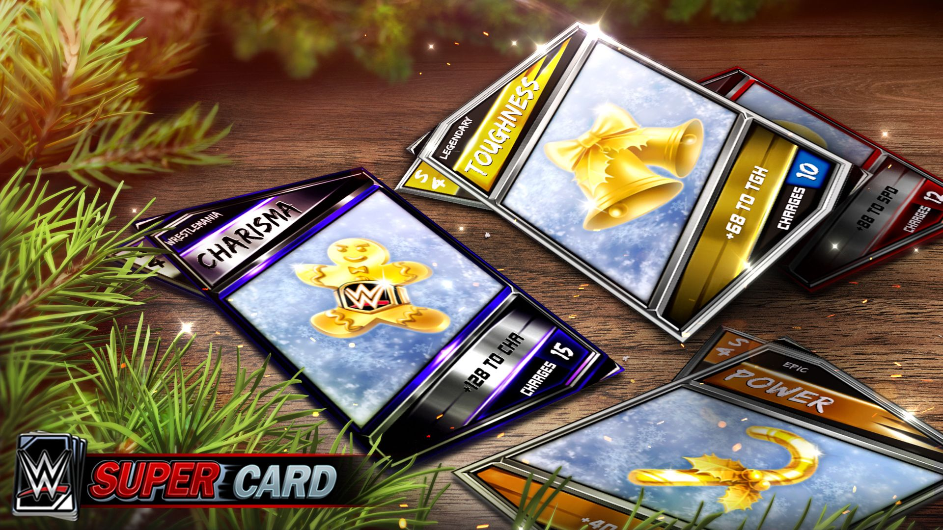 WWE SuperCard | News | WWE SuperCard Holiday Event - It\'s the Most ...